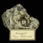 Cerussit x, Stríbro (Mies) (um 1890), Kristall 1,8 cm hoch