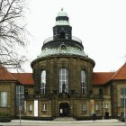 Das Gebäude der Kunstsammlungen Zwickau mit dem Max-Pechstein-Museum beherbergt die geologisch-mineralogischen Sammlungen Zwickau.