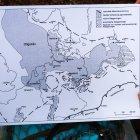 Bild 11: Ausdehnung des Meeres im Oligozän