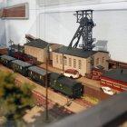 """Modell des Bergaubetriebes """"Willi Agatz"""", Dresden-Gittersee"""
